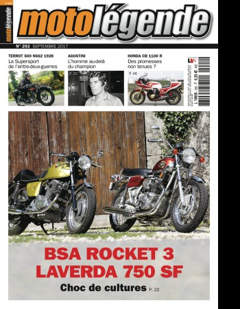 BSA Rocket 3 / Laverda 750 SF